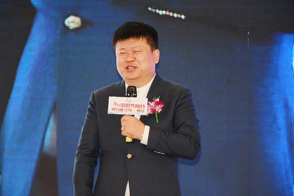 北京爱满人间教育集团董事长张晋老师致辞