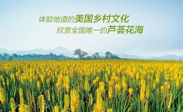台山特色旅游,美国芦荟庄园母亲节活动温暖来袭 图2