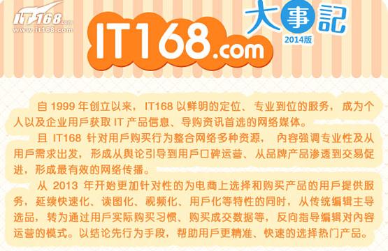 IT168科技类软文推广,网络媒体发稿